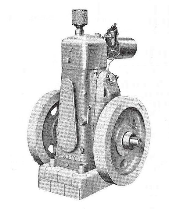 Rys. 01. Silnik wysokoprężny firmy Blackstone serii DB.