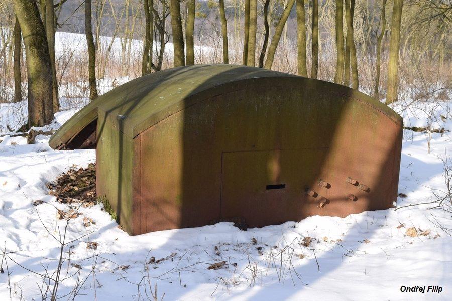 Fot. 08. Stanowisko obserwacyjne fortu II Kosewo Twierdzy Modlin (Fot. Ondřej Filip).